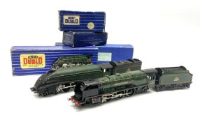 Hornby Dublo - three-rail A4 Class 4-6-2 locomotive 'Silver King' No.60016 in blue striped box with