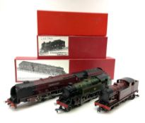 Hornby Dublo - three re-painted locomotives comprising LMS Duchess Class 4-6-2 'Duchess of Atholl' N