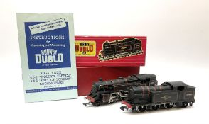 Hornby Dublo - two-rail 2218 Class 4MT Standard 2-6-4 Tank locomotive No.80033 in plain red box with