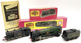 Hornby Dublo - two-rail 2235 Rebuilt West Country Class 4-6-2 locomotive 'Barnstaple' No.34005 with