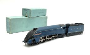 Hornby Dublo - three-rail early post-war A4 Class 4-6-2 locomotive 'Sir Nigel Gresley' No.7 with ins