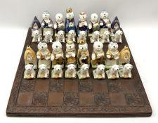 A Sylvia Smith chess set