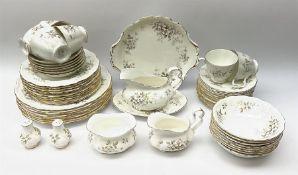 Royal Albert Haworth pattern tea and dinner wares