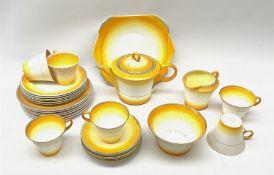 A Shelley Art Deco tea service