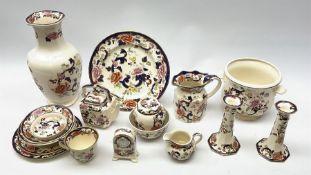 A group of Masons Ironstone Mandalay pattern wares