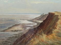 Jill Grinstead (British Northern Contemporary): 'Vanishing Coastline' Holderness