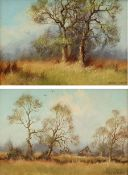 James Wright (British 1935-): Rural Trees