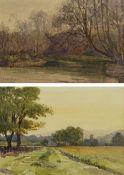 Frances Watson Sunderland (British 1866-1949): Yorkshire Landscapes