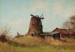 James Wright (British 1935-): The Old Windmill