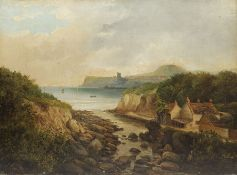 J Coole (19th century): Scalby Mills Scarborough