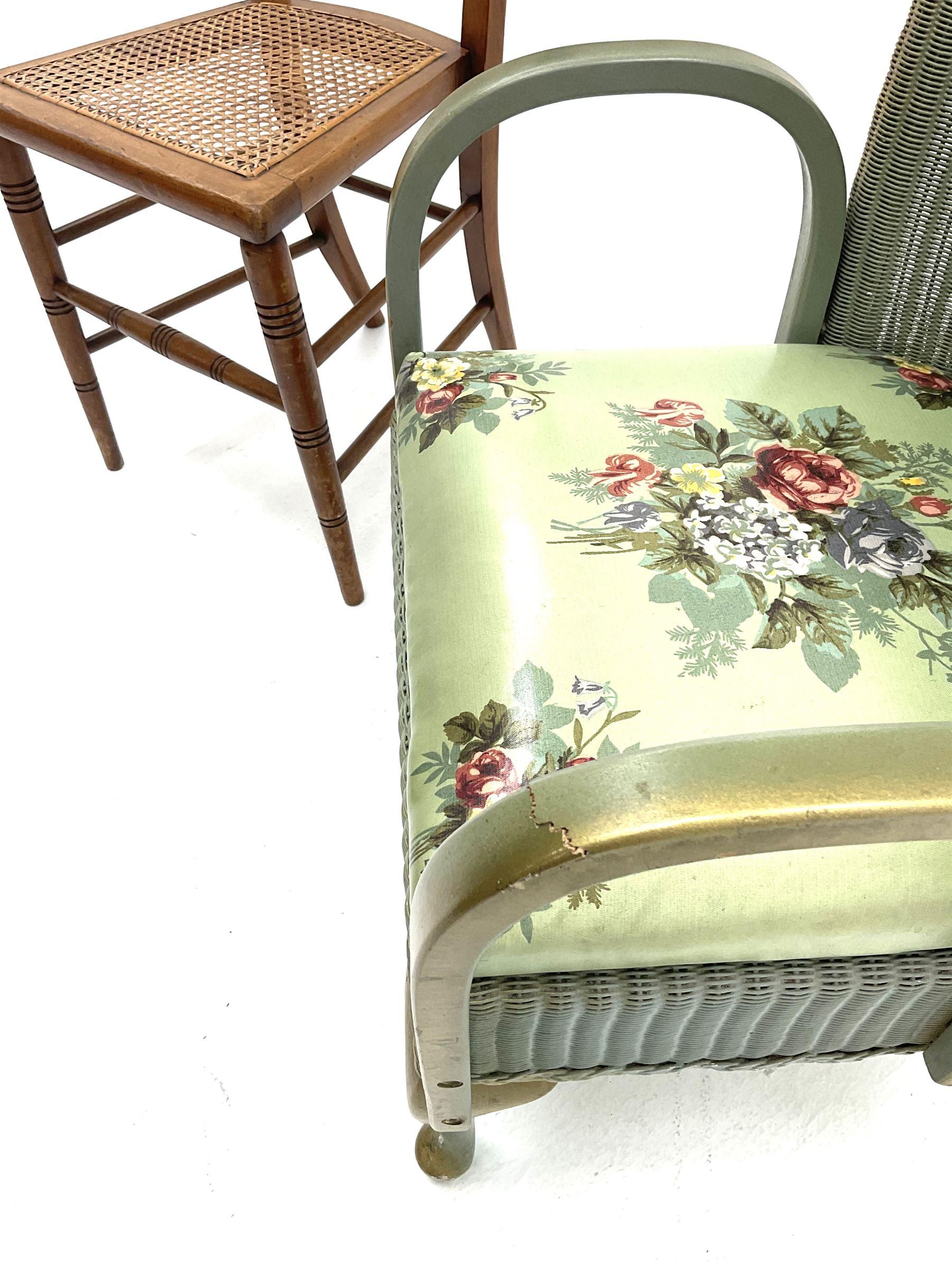 Loyd loom style chair - Image 2 of 3