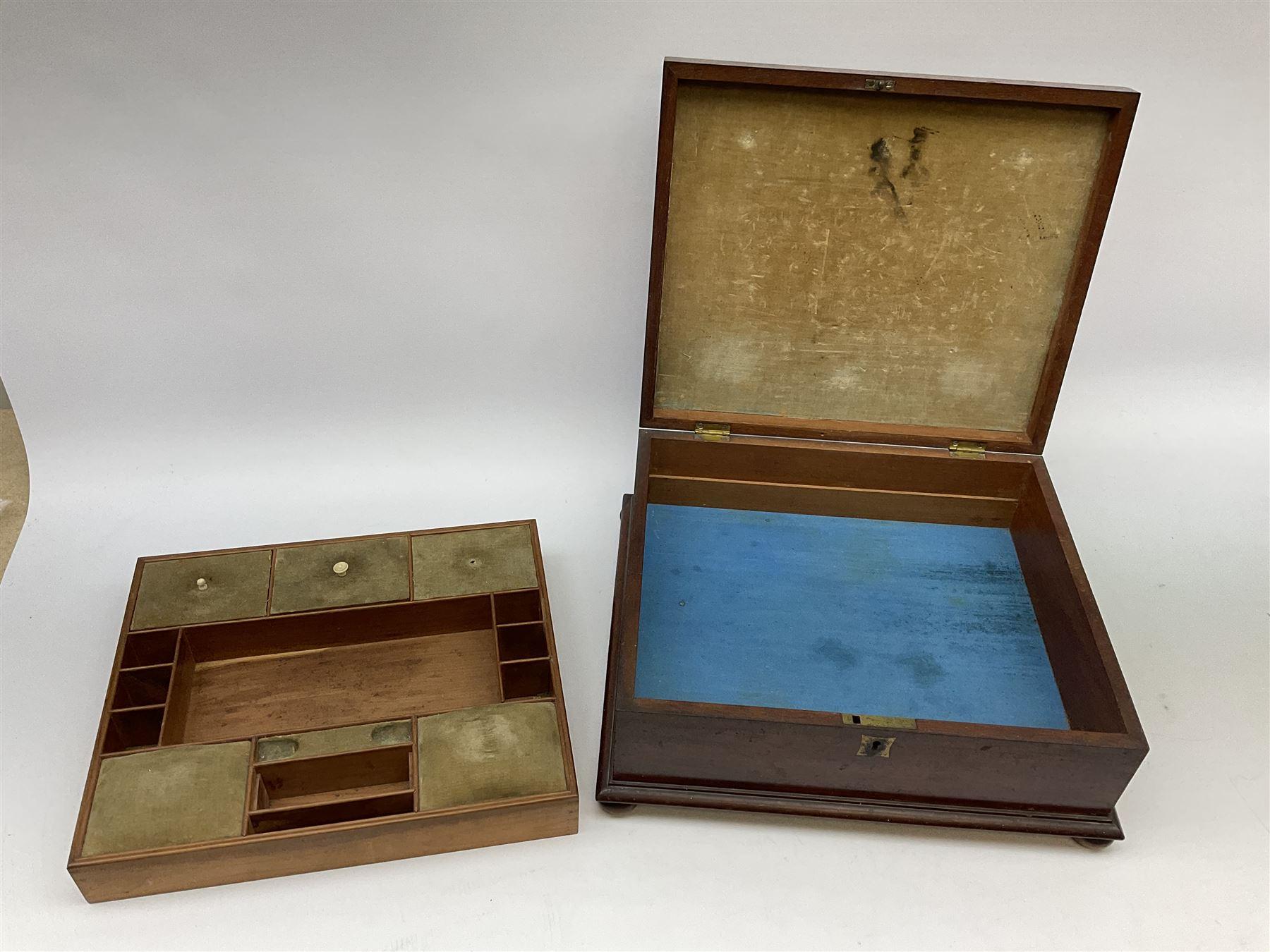 A Victorian mahogany box - Image 3 of 6