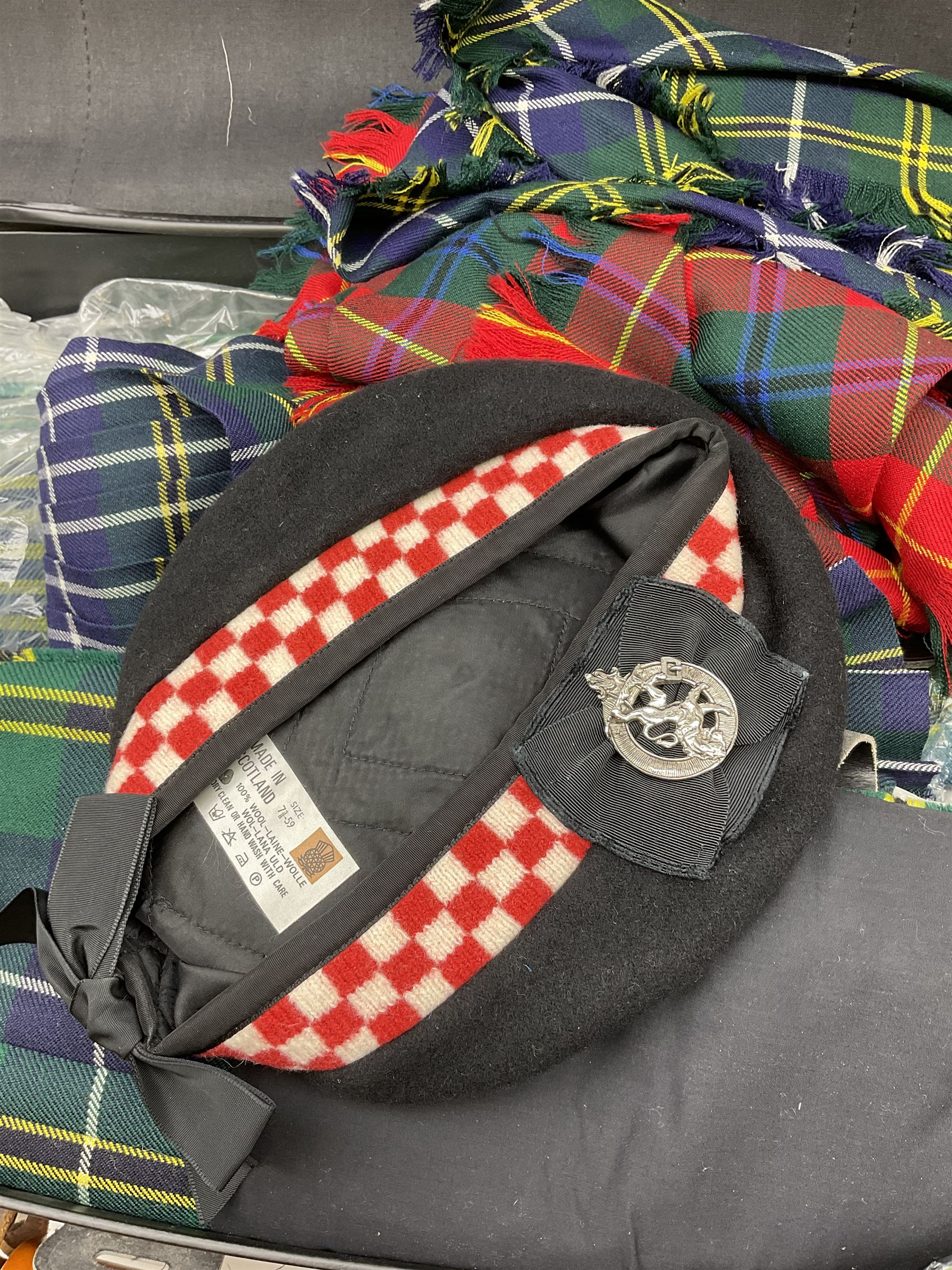 Quantity of highland dress to include approximately is kilts with examples by Locharron - Image 4 of 6