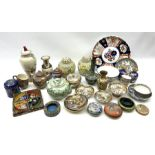 A group of assorted 20th century and later Oriental ceramics