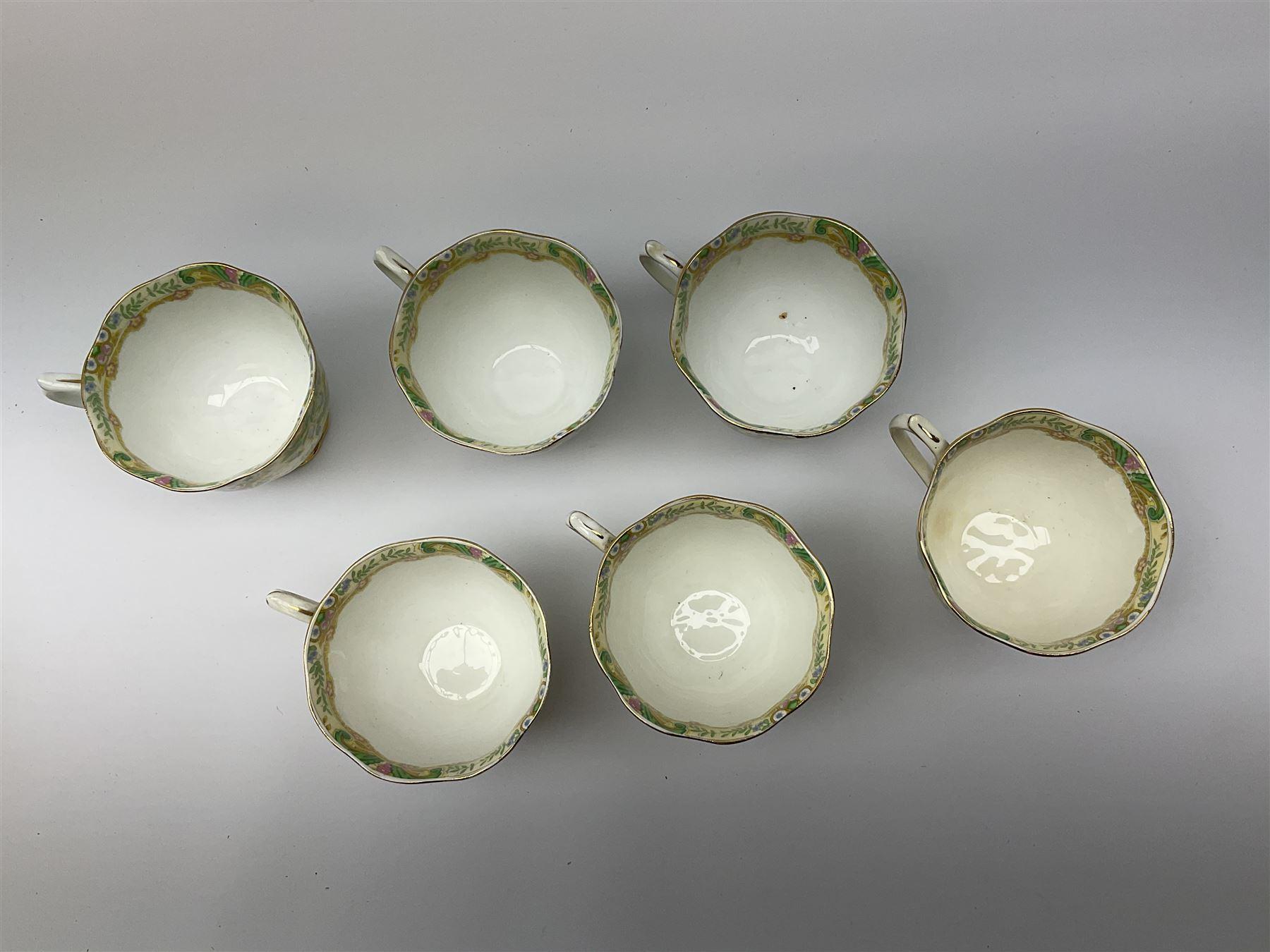 Royal Albert 'Paisley Shawl' pattern part tea set - Image 5 of 12