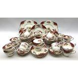 Paragon Rockingham pattern tea wares