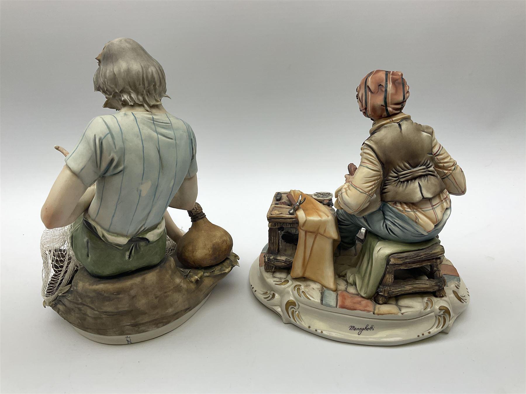 Two Capodimonte figures - Image 3 of 7