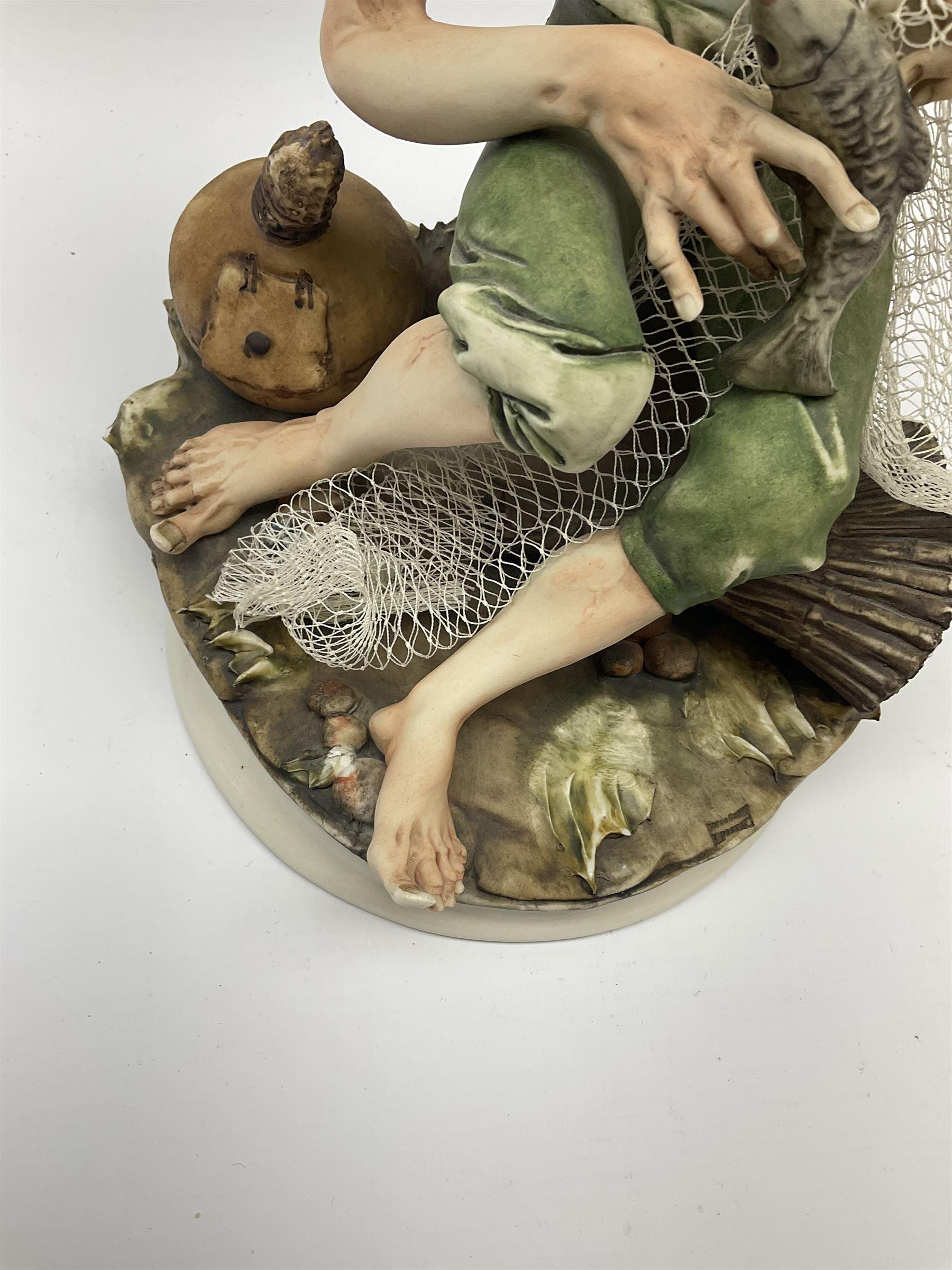 Two Capodimonte figures - Image 5 of 7