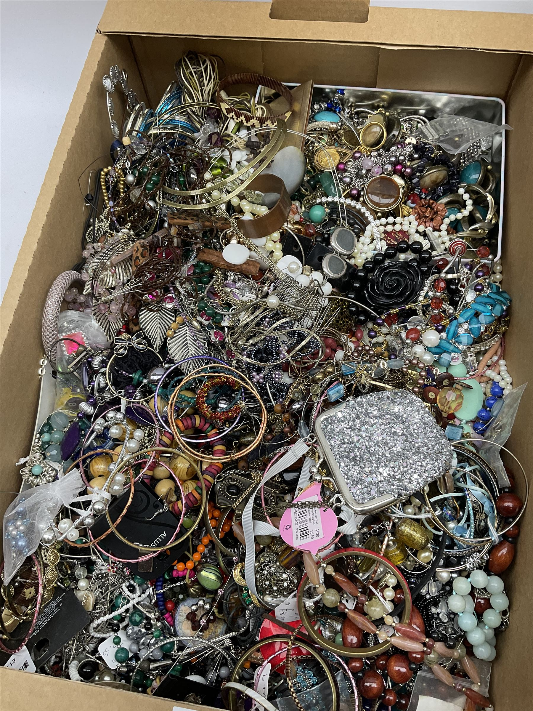 Quantity of costume jewellery including bracelets - Image 2 of 4