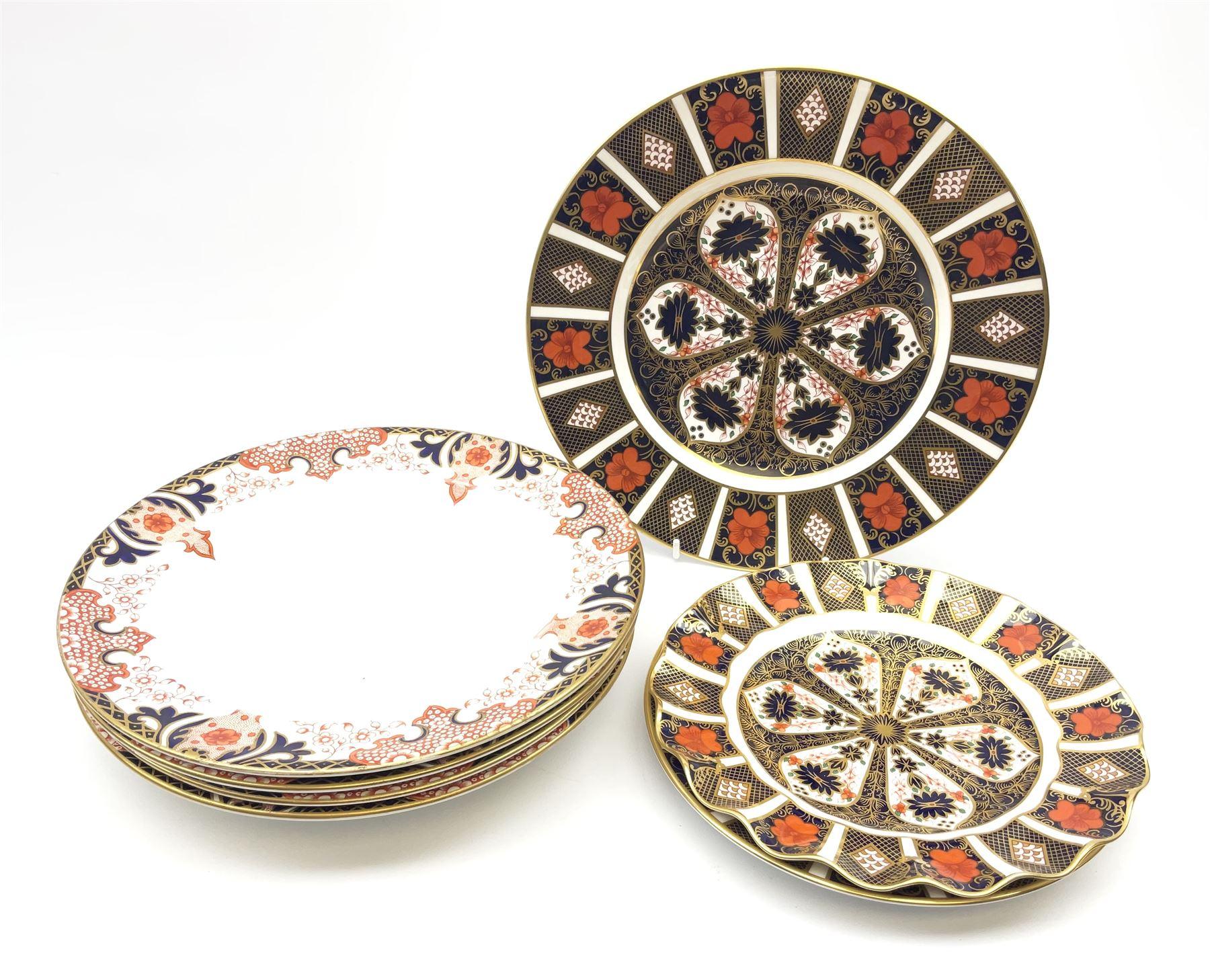 A Royal Crown Derby Imari 1128 pattern plate