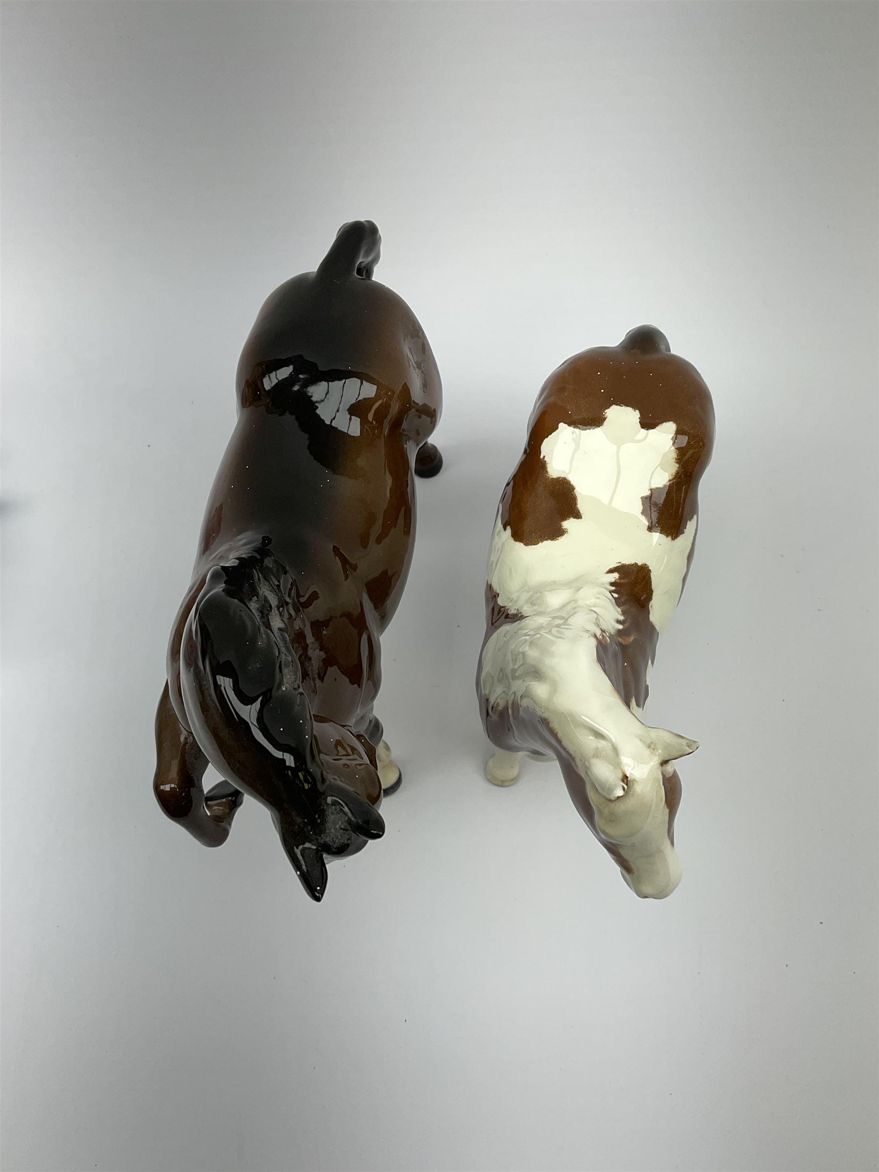 A Beswick Skewbald Pinto pony - Image 6 of 8