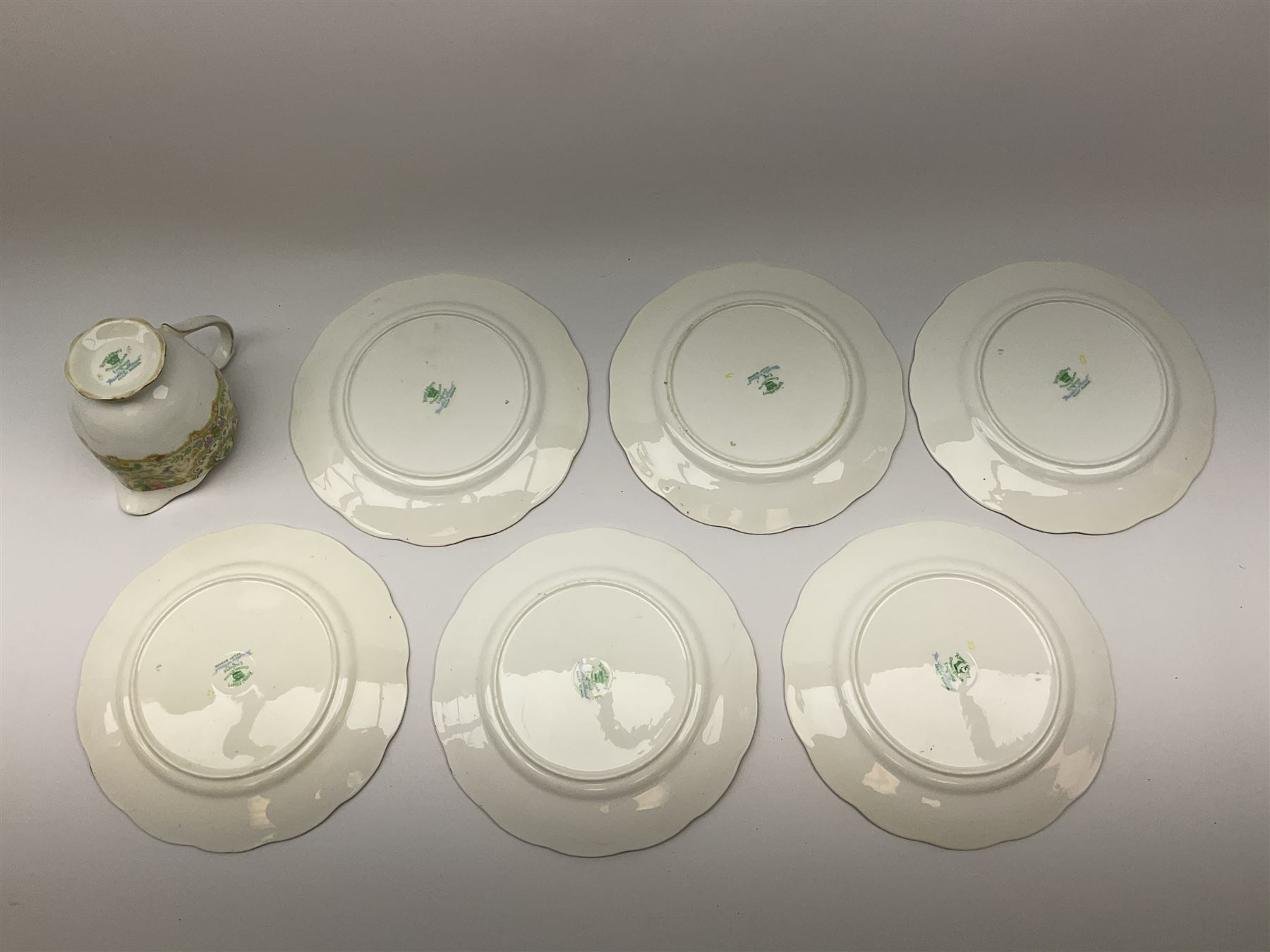Royal Albert 'Paisley Shawl' pattern part tea set - Image 11 of 12