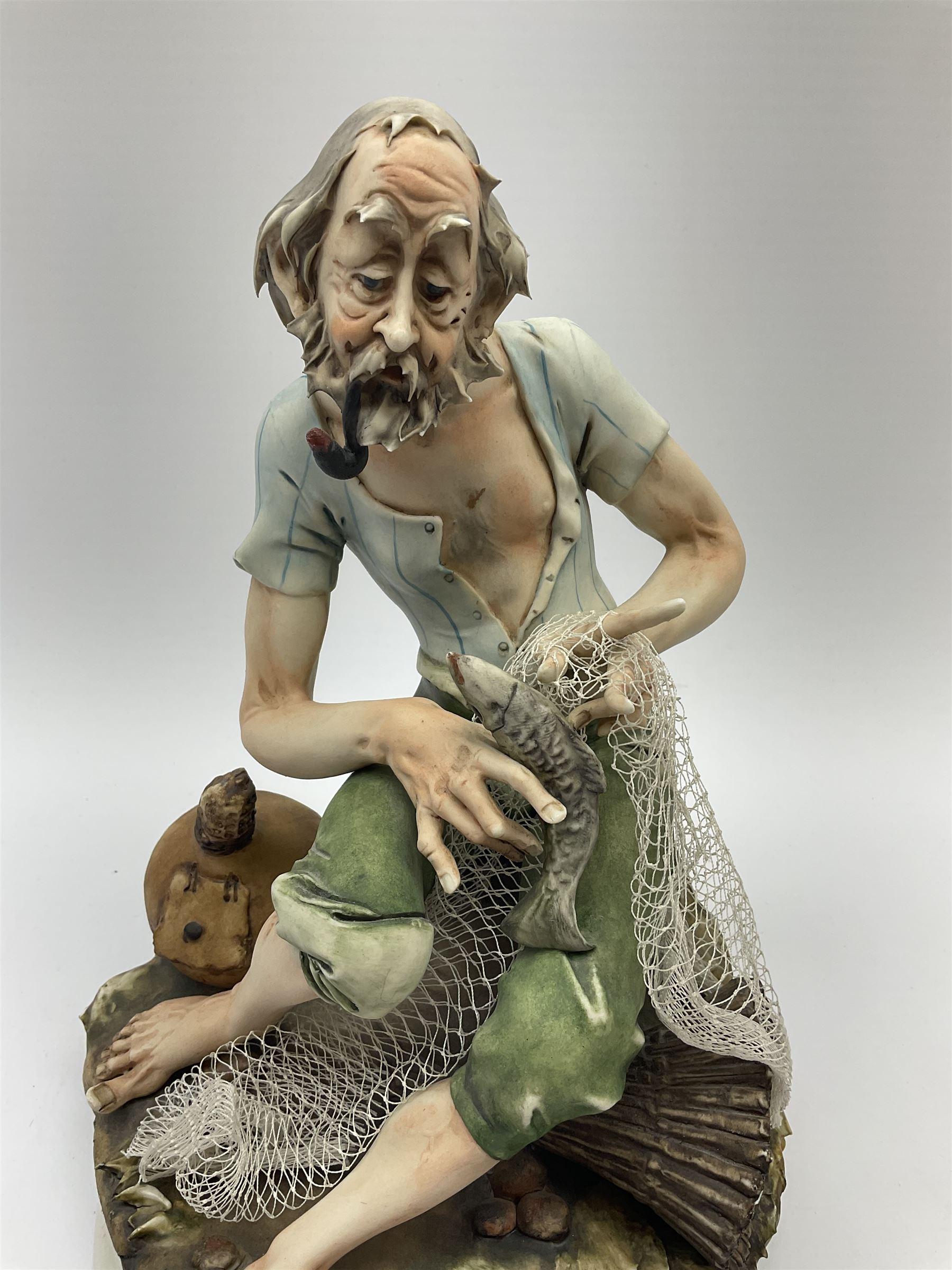 Two Capodimonte figures - Image 6 of 7