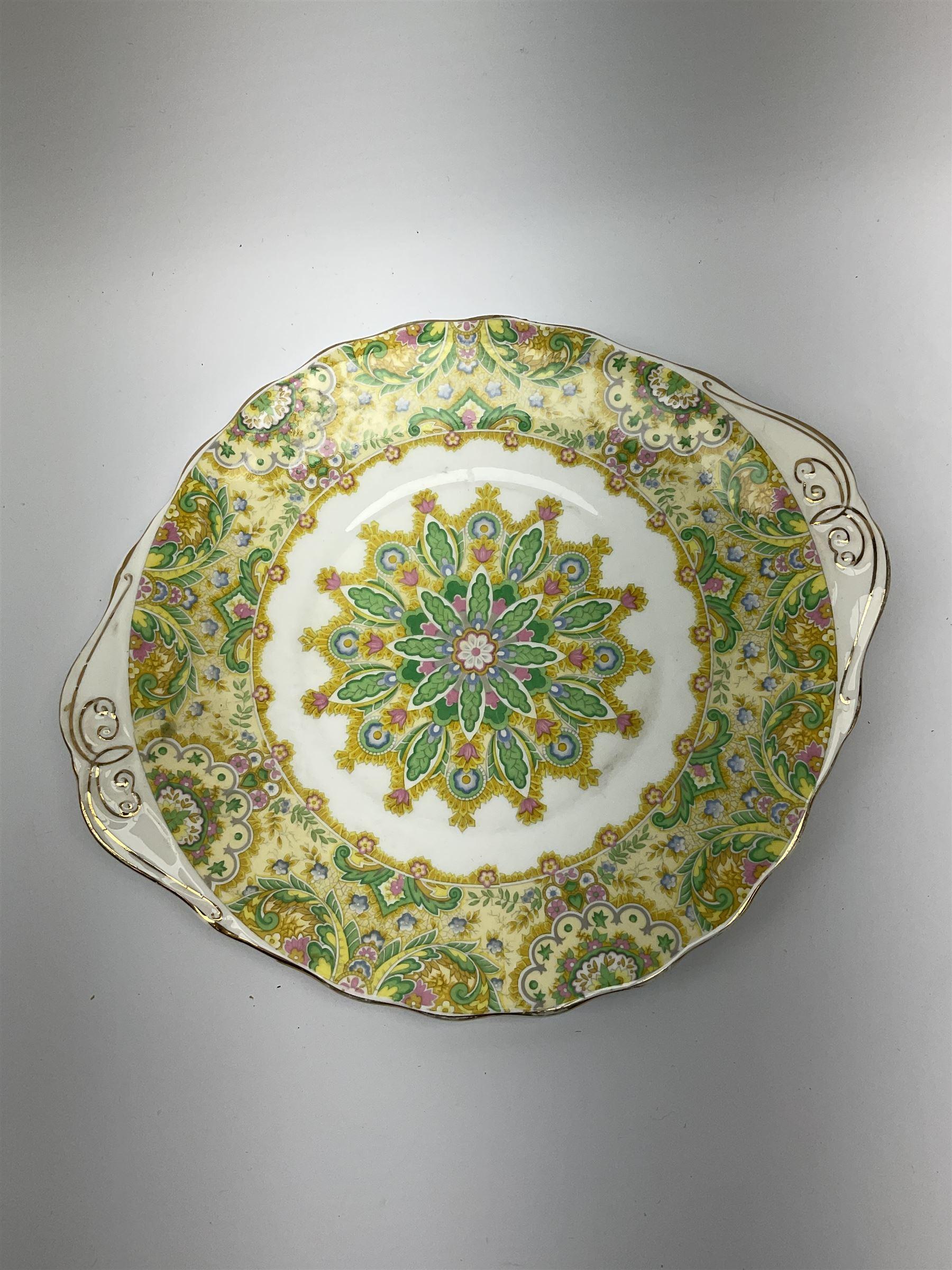 Royal Albert 'Paisley Shawl' pattern part tea set - Image 2 of 12