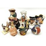 Ceramics including Royal Doulton 'Aerobic Bunnykins'