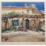 Robert Greenhalf (British 1950-): 'Farmhouse in Spain'
