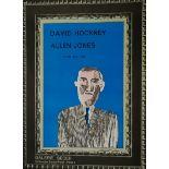 After David Hockney (British 1937-): 'David Hockney & Allen Jones'
