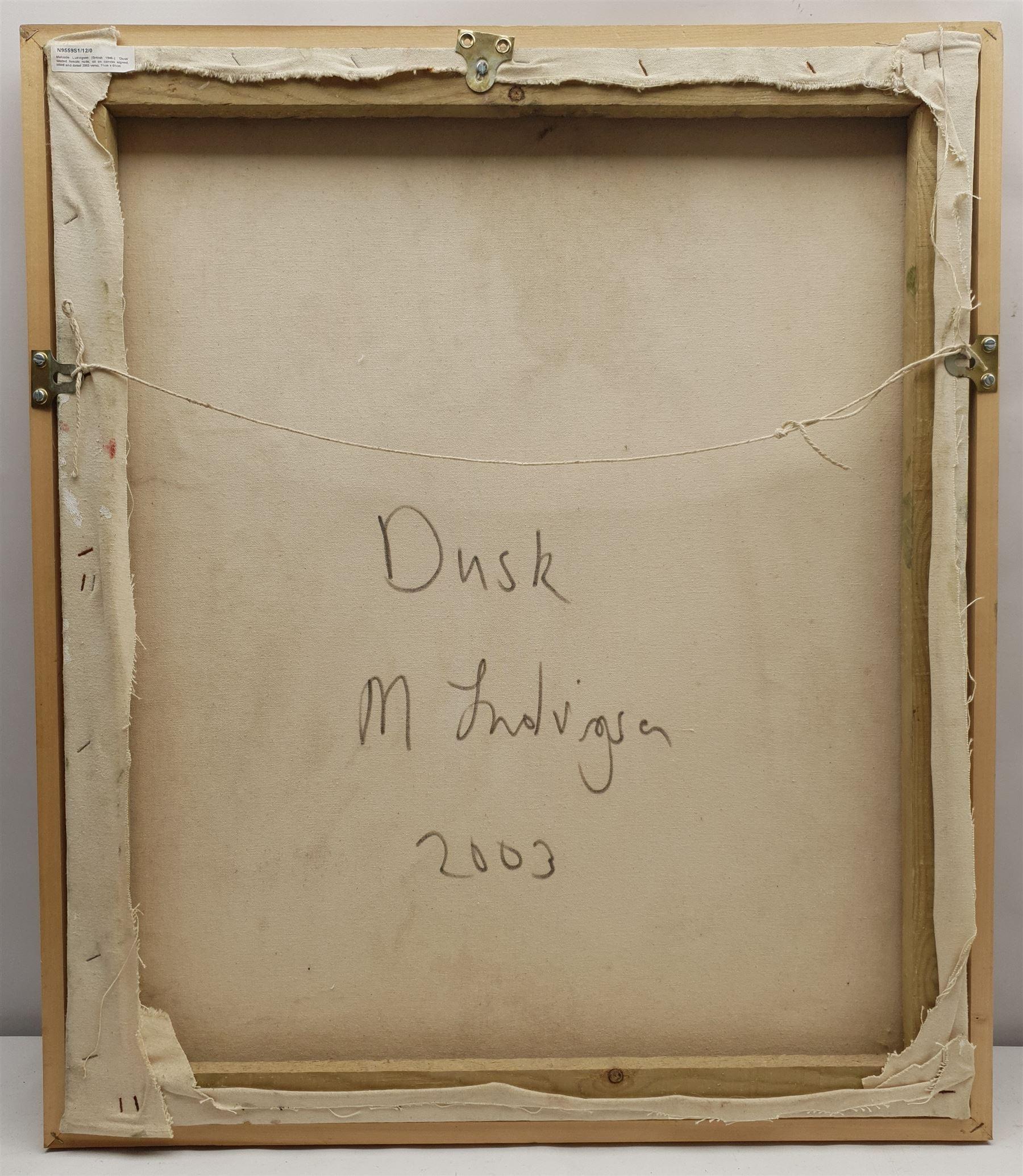 Malcolm Ludvigsen (British 1946-): 'Dusk' - Image 3 of 3