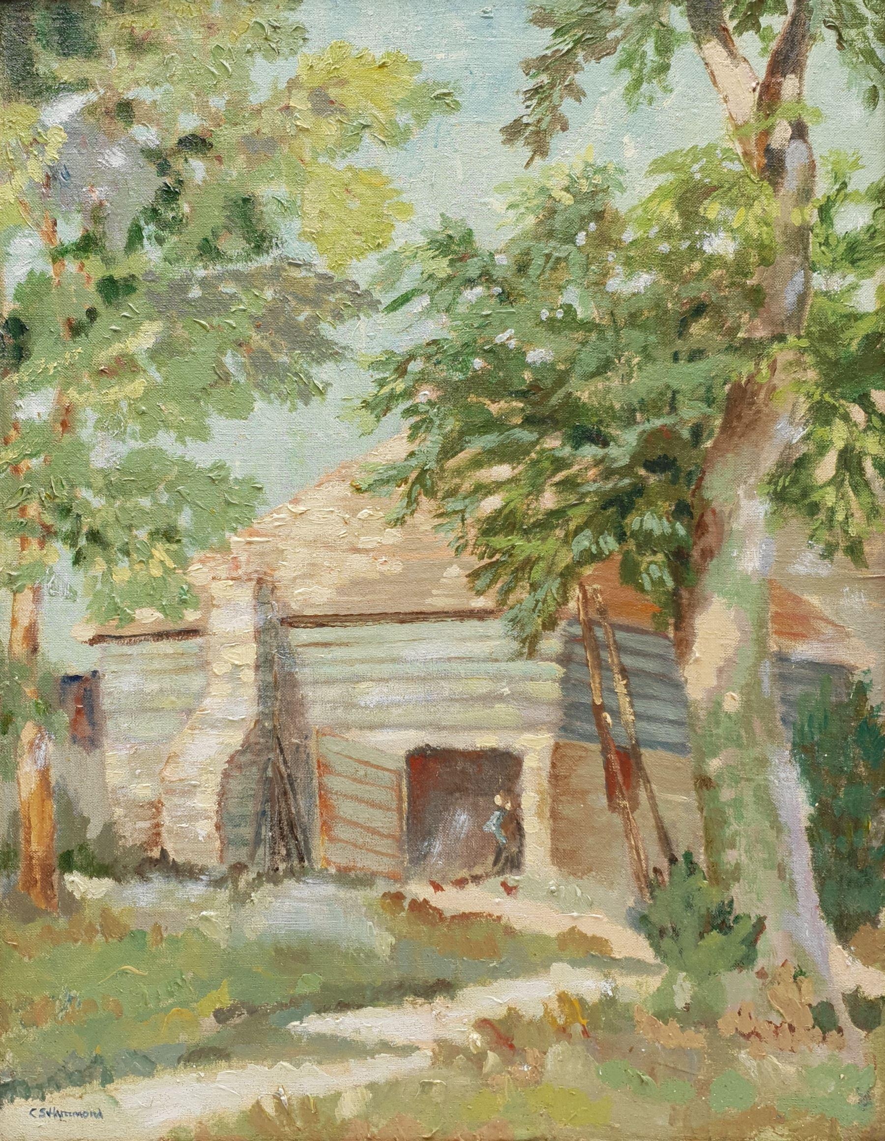 C S Hammond (Early 20th century): Sunny Farmstead