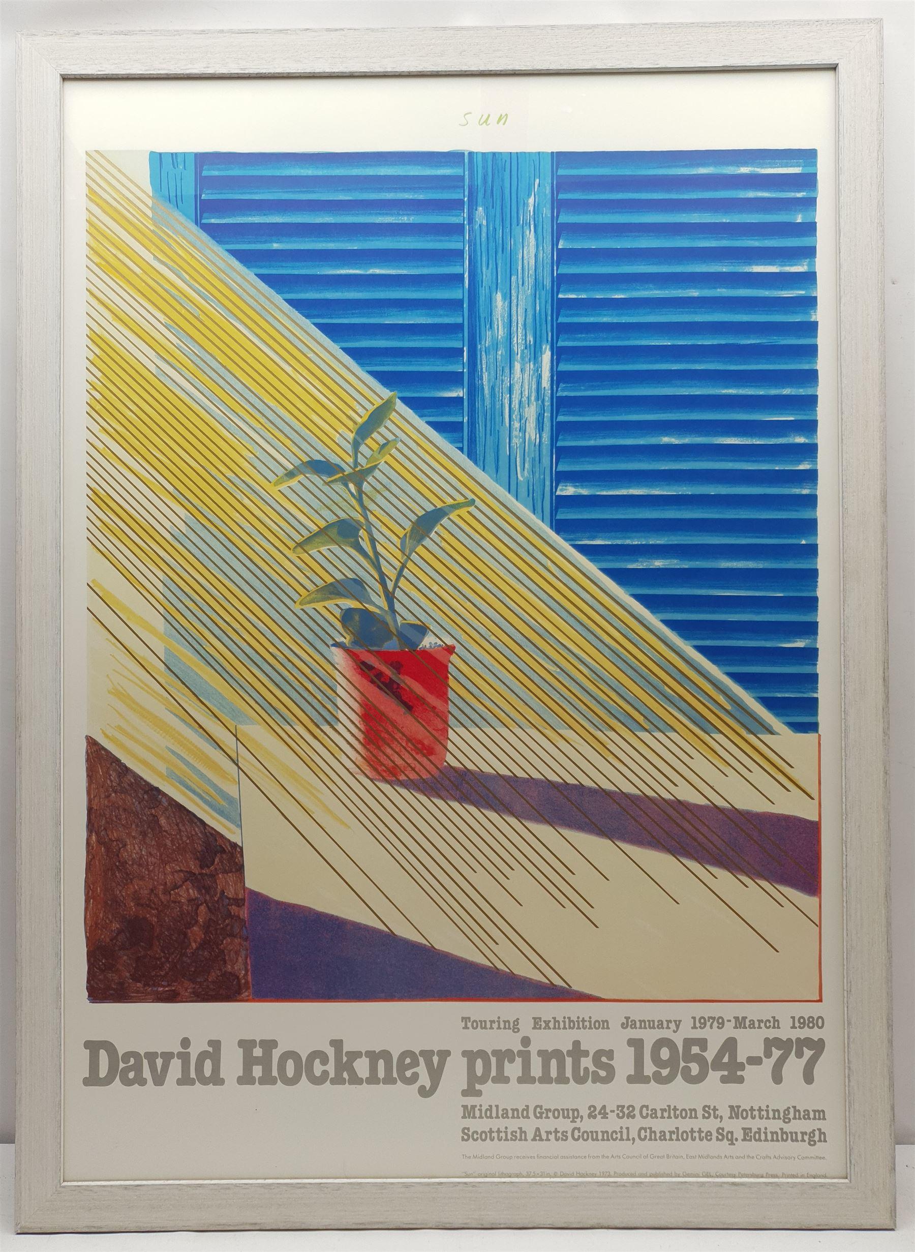After David Hockney (British 1937-): 'Sun - David Hockney prints 1954-77' - Image 2 of 2
