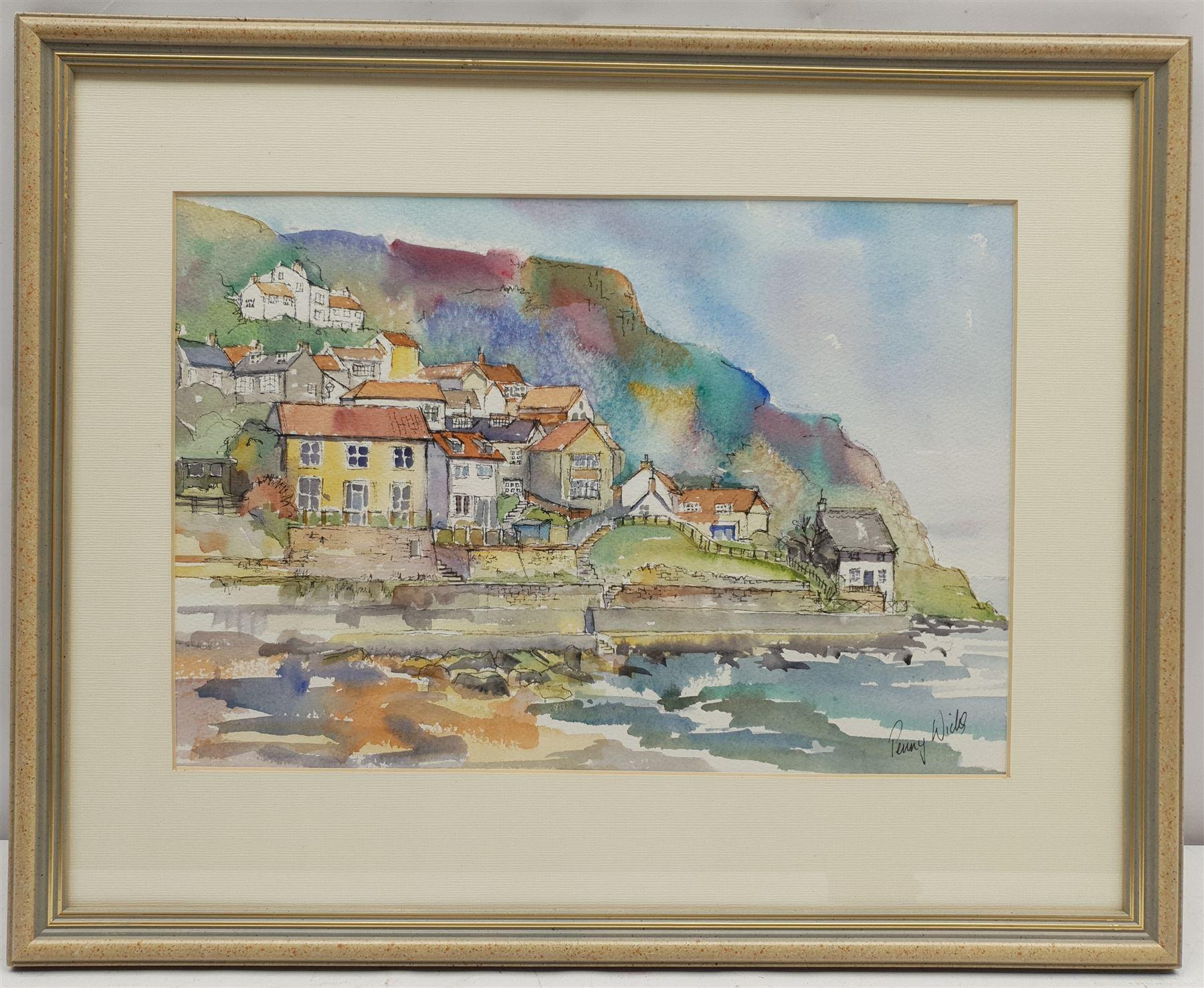 Penny Wicks (British 1949-): 'Runswick Bay' - Image 2 of 2