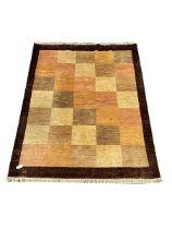 Modern beige ground rug