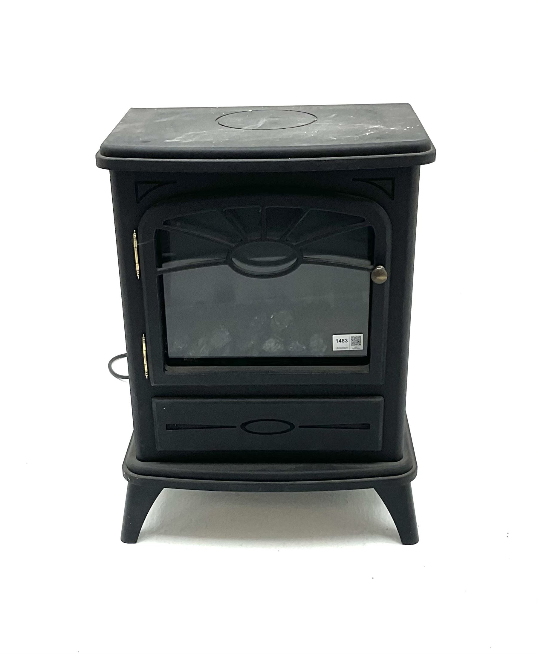 Focal point fires - electric stove