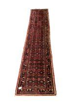 Central Asian runner rug