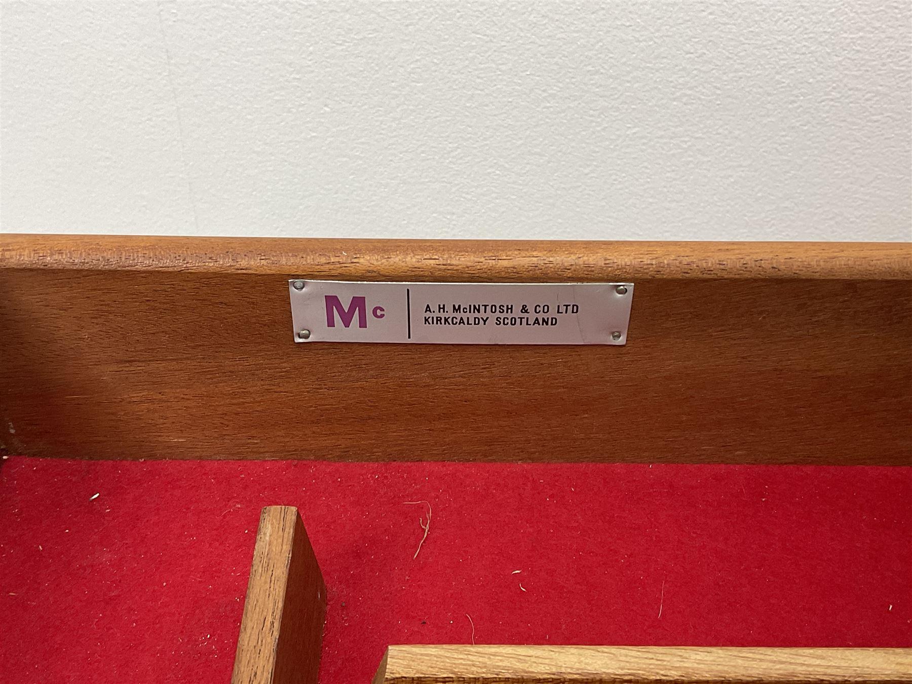 Mid 20th century A.H.McIntosh teak sideboard - Image 6 of 7