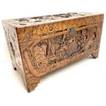 Early 20th century camphor wood chest