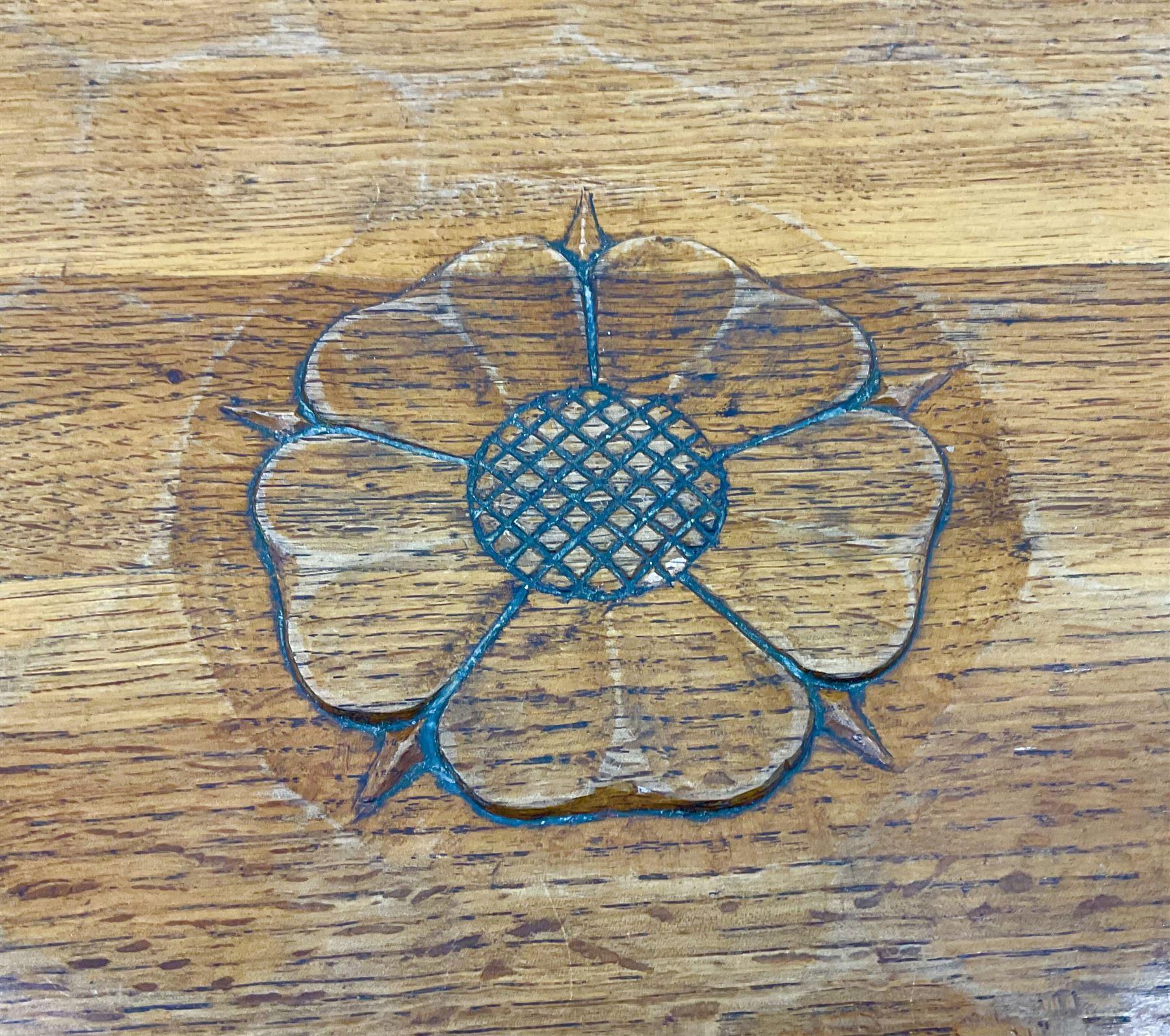 Yorkshire oak rectangular coffee table - Image 6 of 6