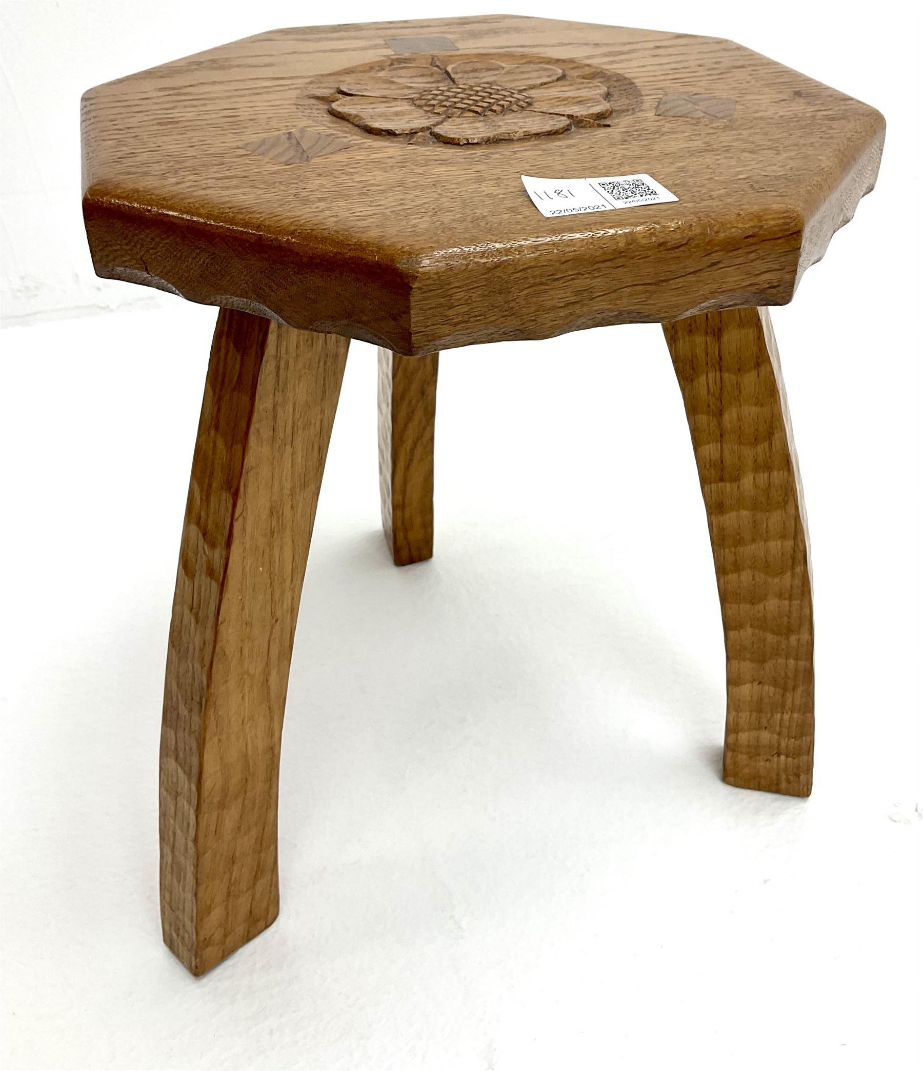Yorkshire oak rectangular coffee table - Image 3 of 6