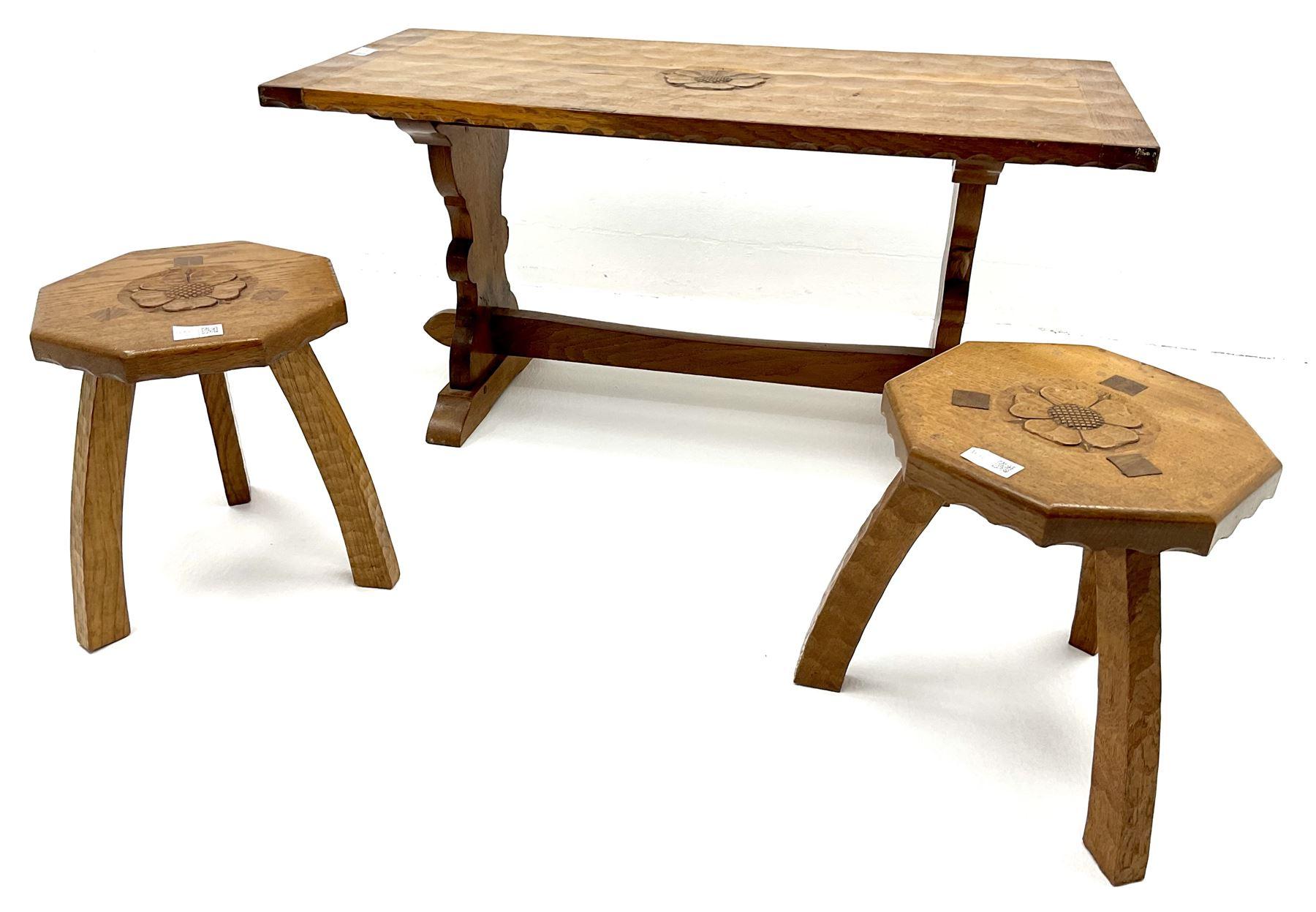 Yorkshire oak rectangular coffee table