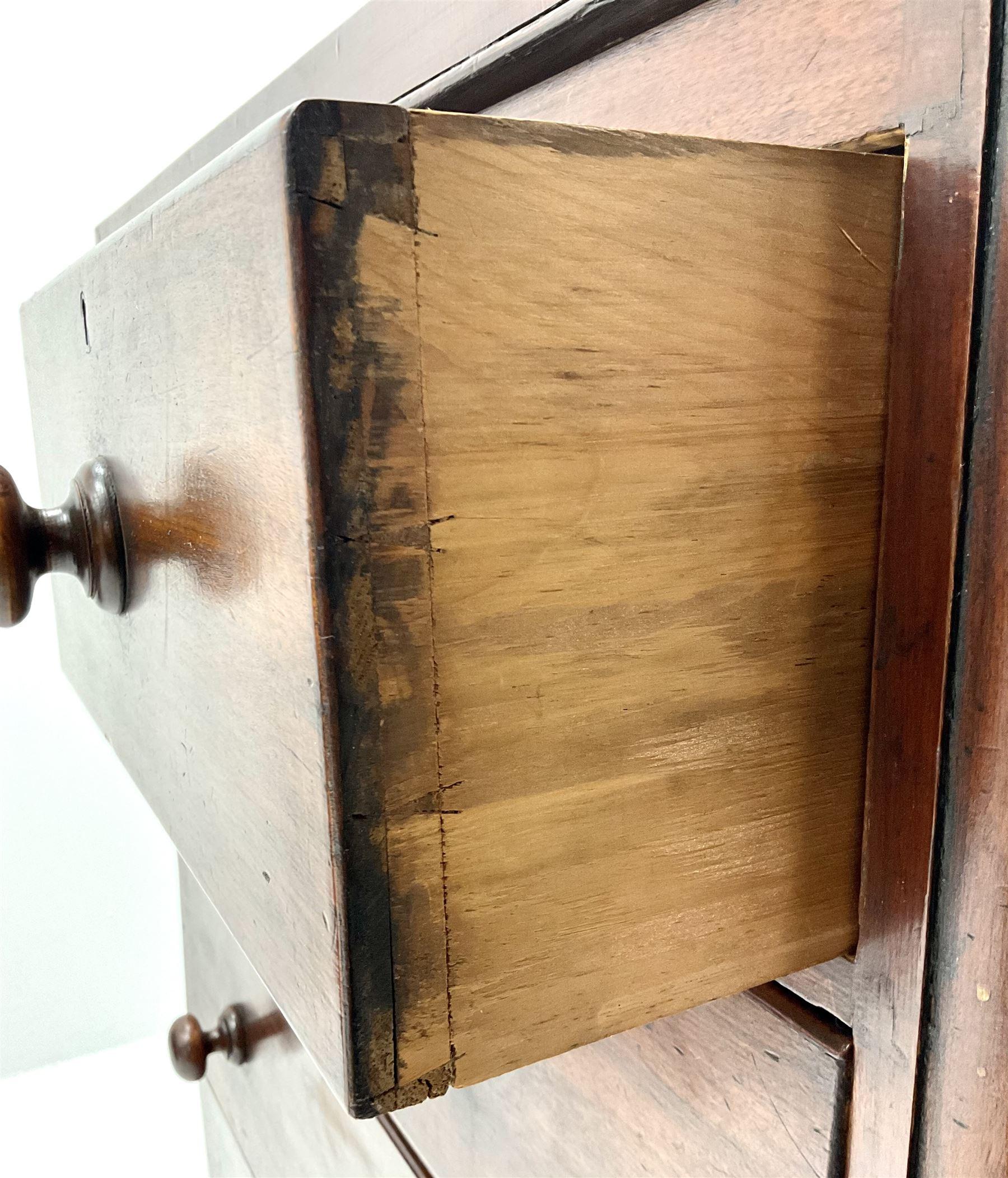 Victorian mahogany chest - Image 5 of 5