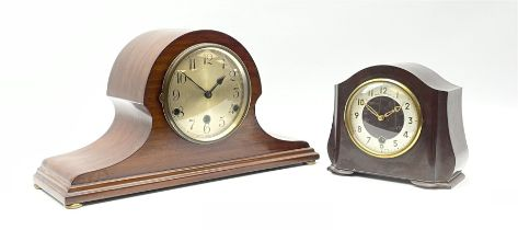 Early 20th century mahogany cased mantel clock