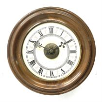 Early 20th century 'Postman's' alarm wall hanging clock