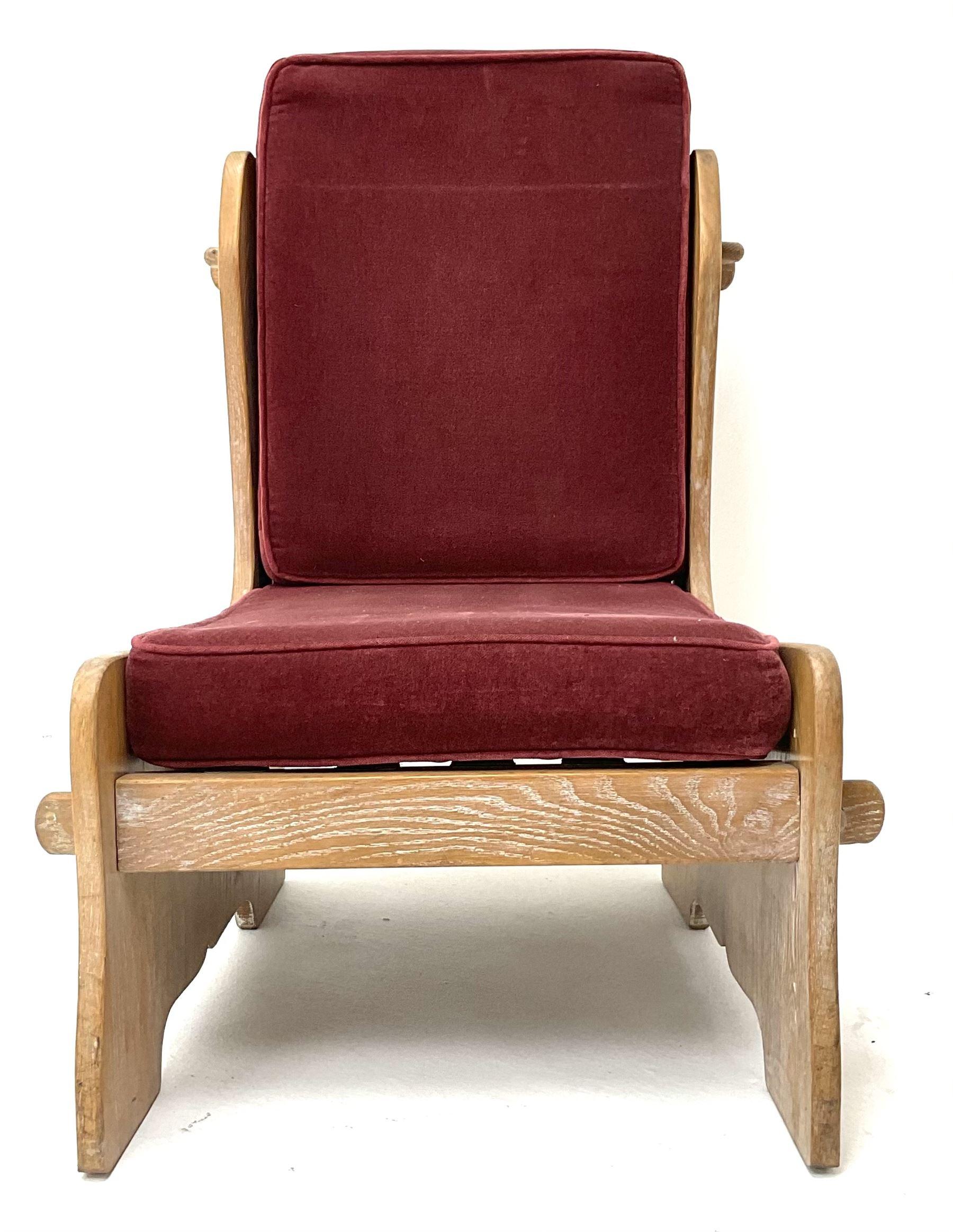 20th century oak chair