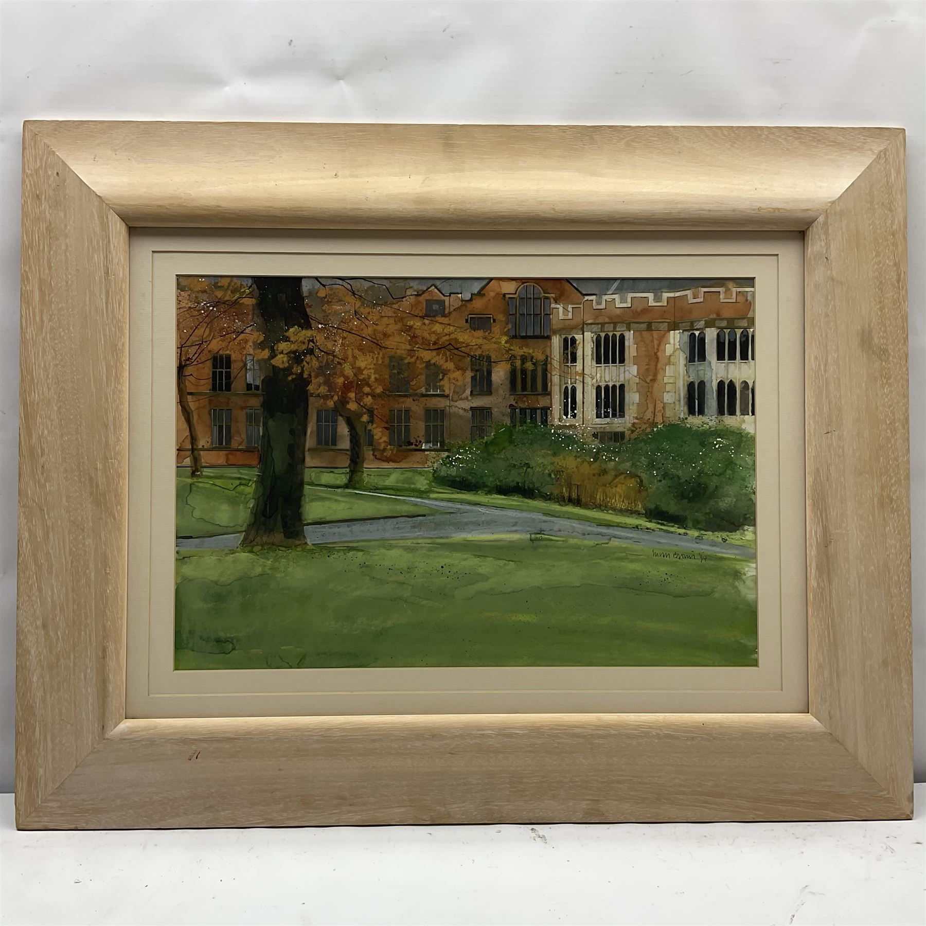 Susan Brown (Northern British 1956-): 'View from Weston Park Sheffield' - Image 2 of 4