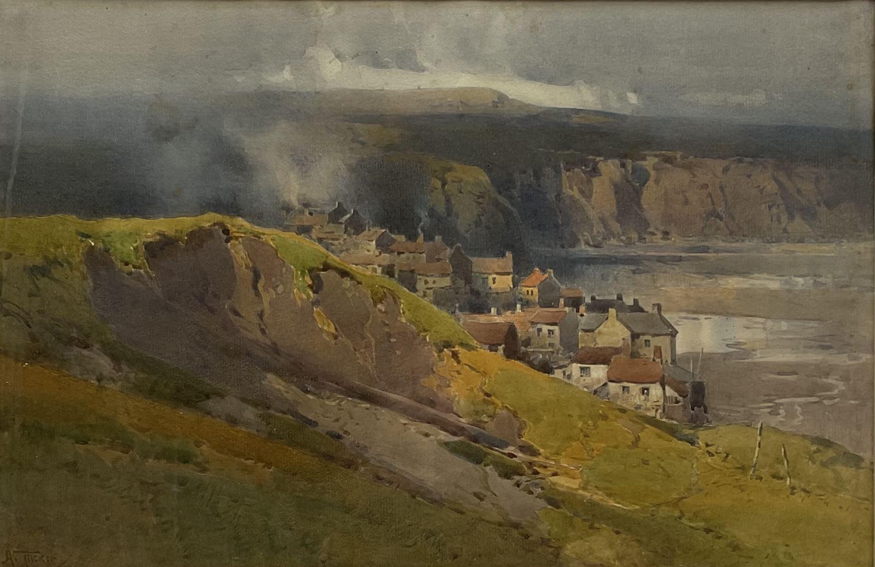 Arthur Tucker R.B.A. (British 1864-1929): Robin Hoods Bay