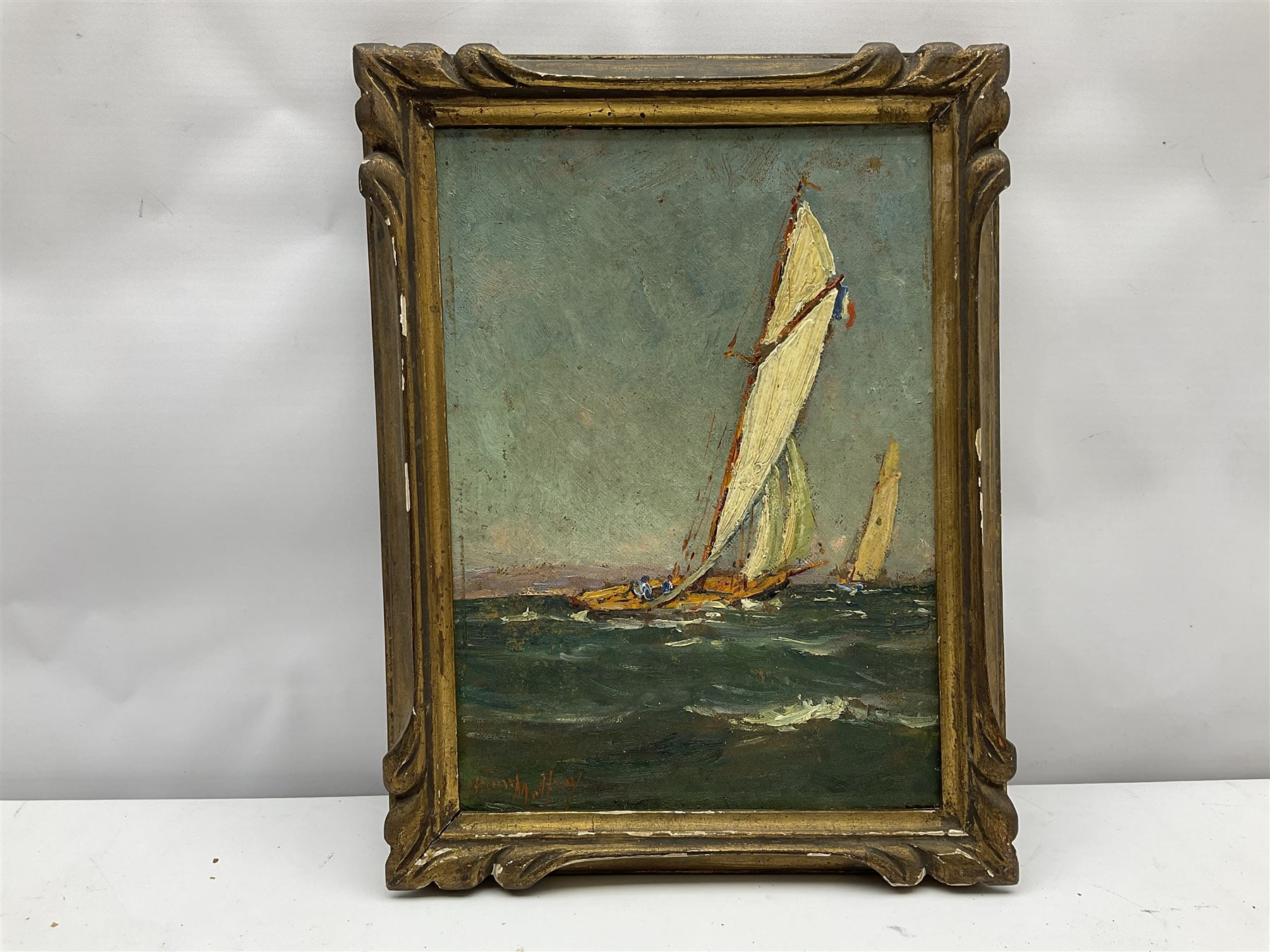 Henry Malfroy (French 1895-1944): Racing Yachts - Image 3 of 4